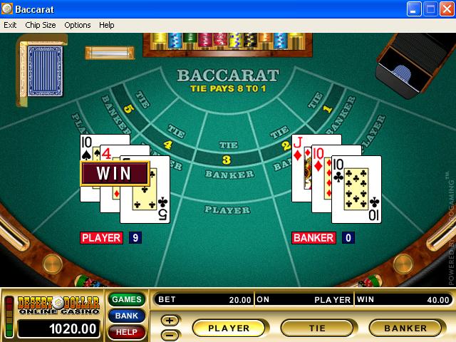 virtual casino video game